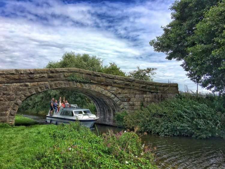 We are Sailing waterway Lancaster canal