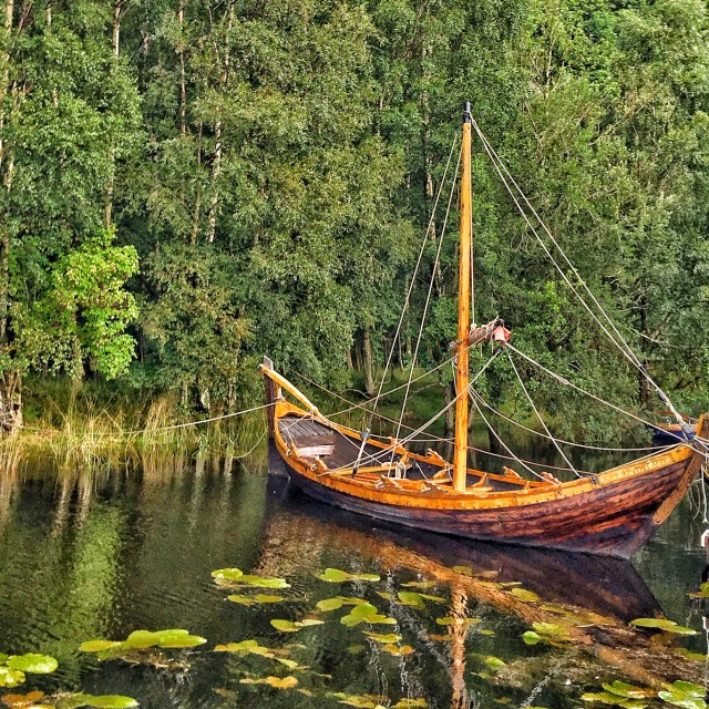 The Gift of the Gael Viking Longship