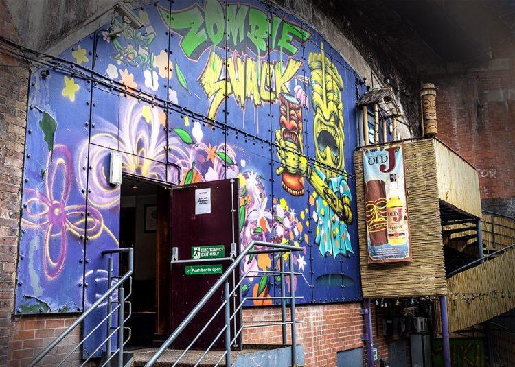 Zombie Shack Castlefield Manchester club