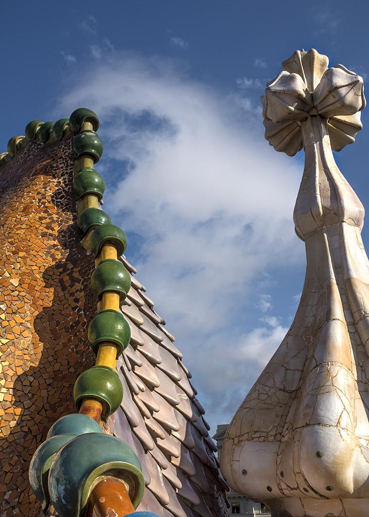 Dragon's Spine Gaudi Casa Batllo Barcelona