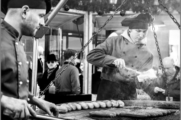 Christmas market Manchester
