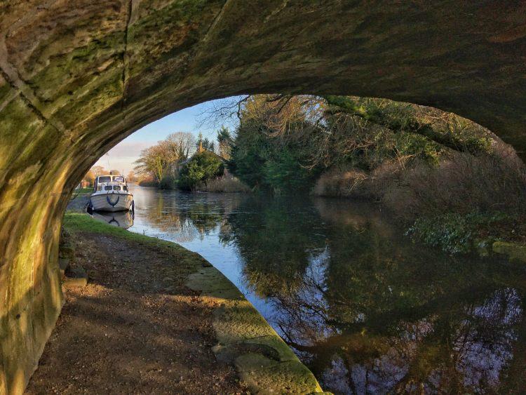 Under the Bridge lancaster canal