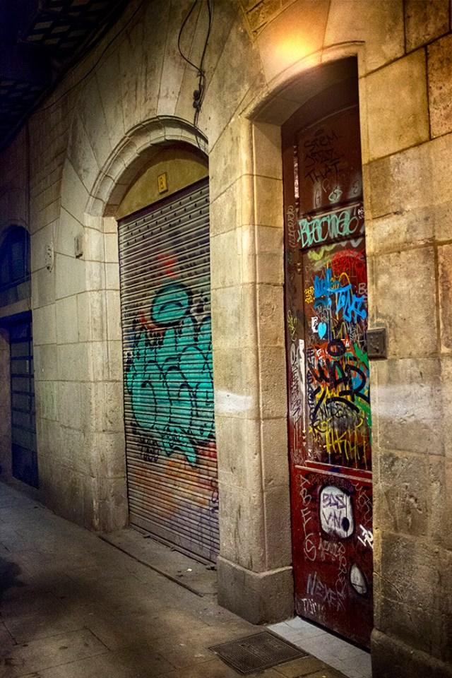 Shop & Apartment Doors Barcelona Gothic Quarter