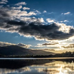Bassenthwaite Lake Cumbria Lake District