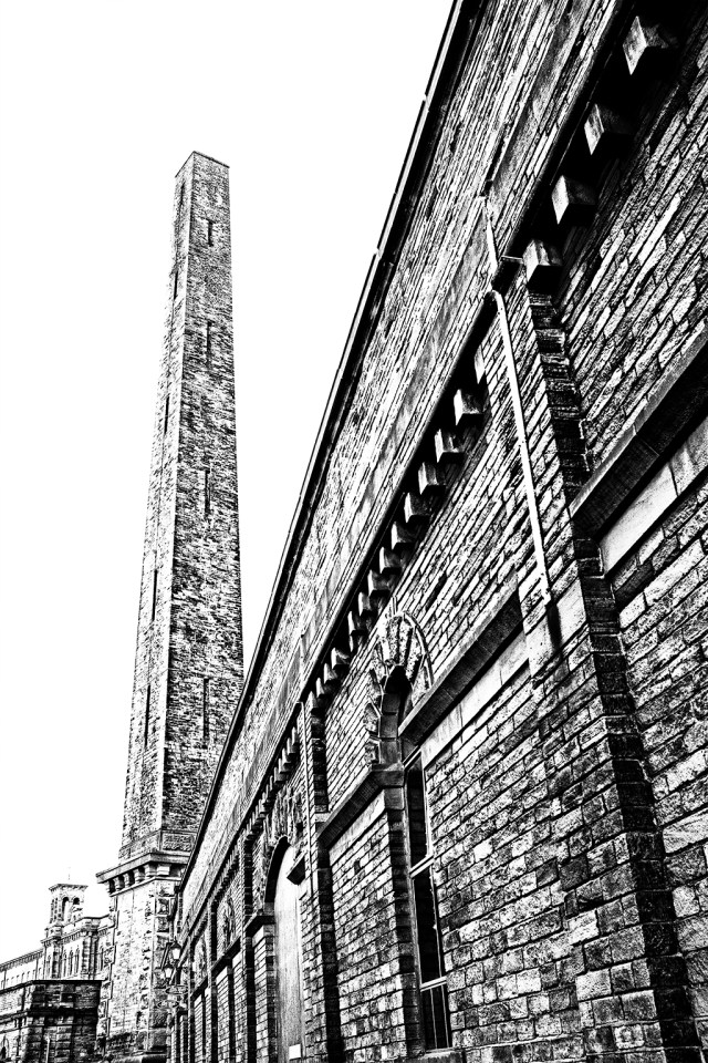Salts Mill Chimney Saltaire