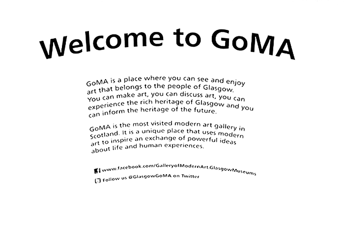 Welcome to GoMA glasgow art gallery