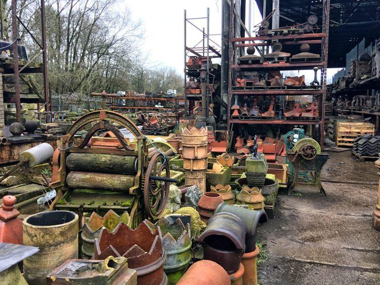 More Treasures Victorian Salvage yard