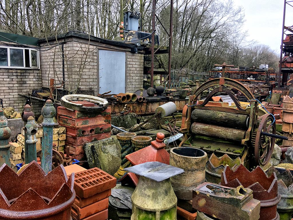 Assorted Clutter salvage yard Victorian