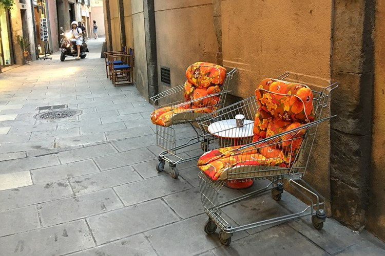 Supermarket Trolleys barcelona oddball seats