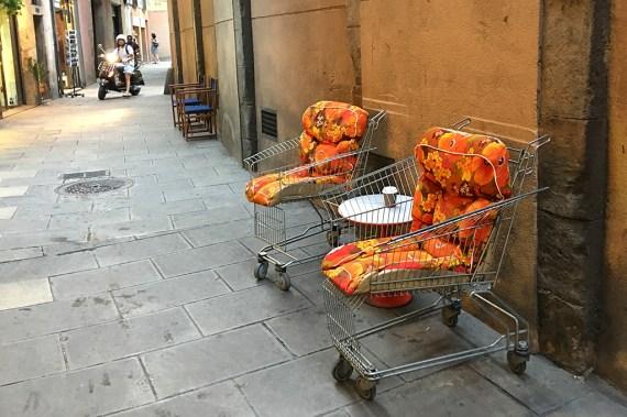 Supermarket Trolleys barcelona oddball seats
