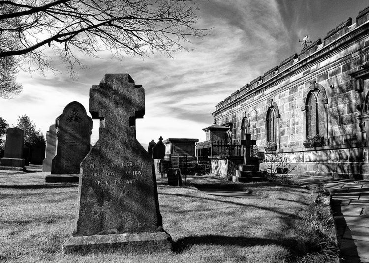 Gravestones churchyard