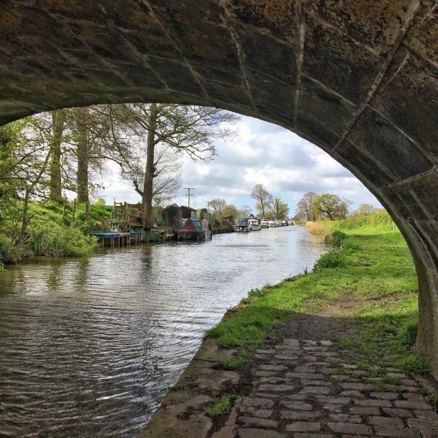 bridge Woodplumpton, catforth, Lancaster Canal Lancashire rural