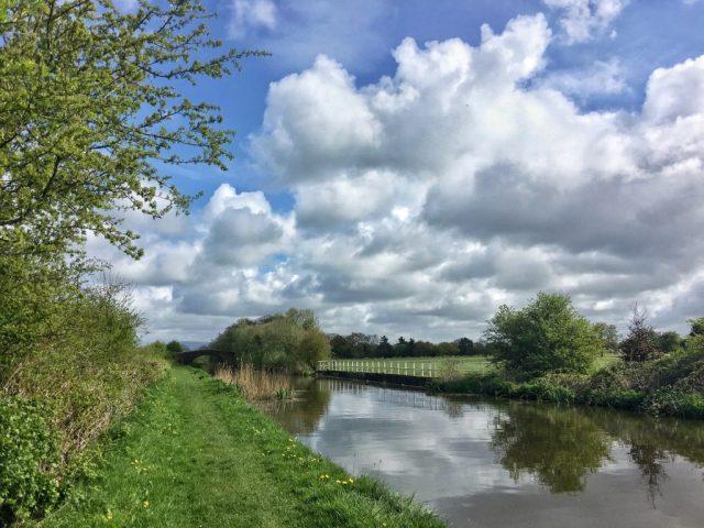 Woodplumpton, catforth, Lancaster Canal Lancashire rural