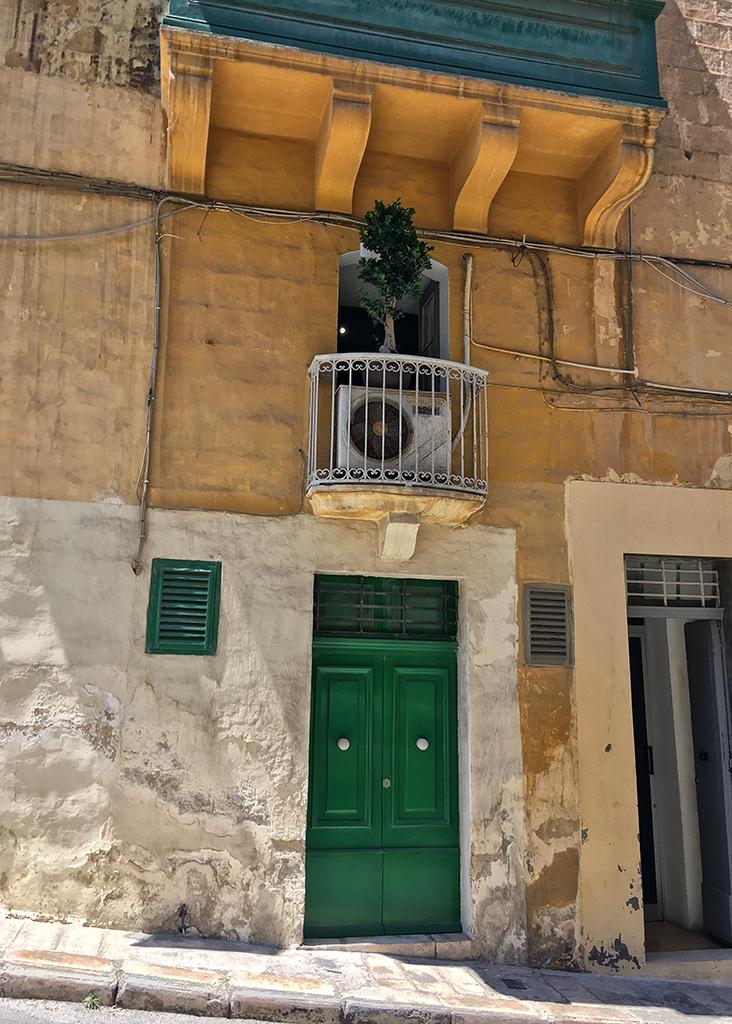 Green Door, Thursday Doors, Malta, Valletta,