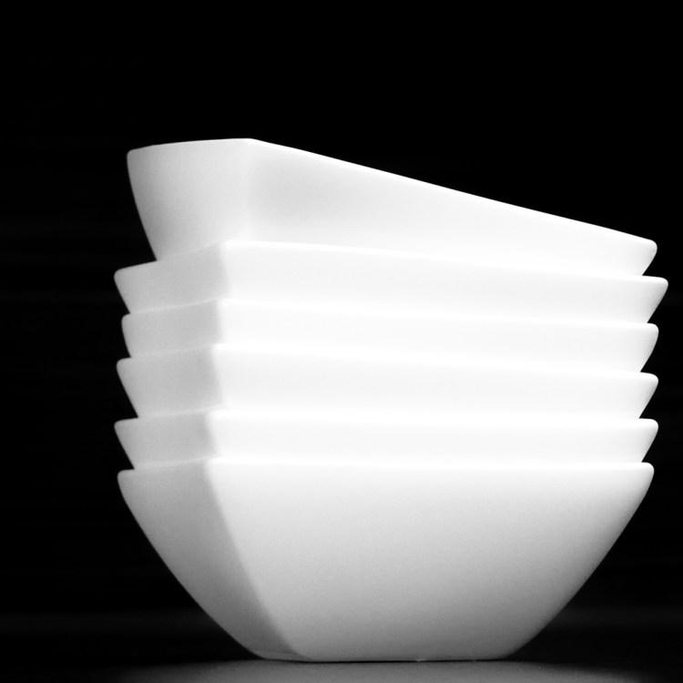 Dipping Bowls monochrome minimalist kitchen everyday objects