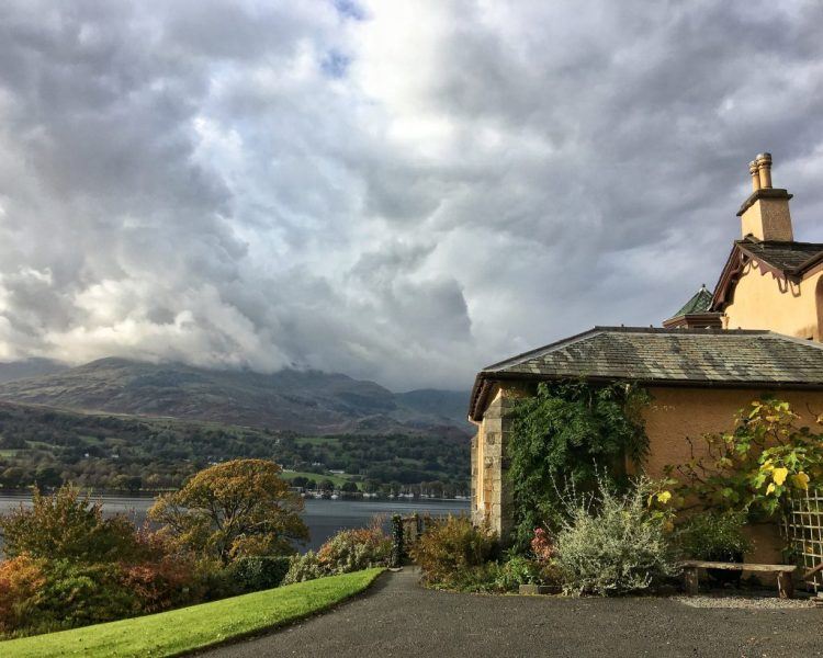 BRANTWOOD: View over Coniston Water Lake District
