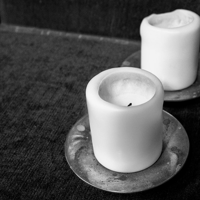 monochrome small things Cee's B&W challengeWOODPLUMTON CHURCH: Snuffed out Candles