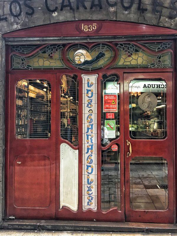 BARCELONA: More Doors in Gothic Quarter