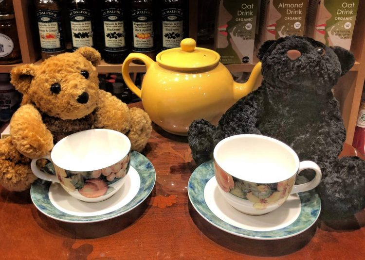 Tea for Two teddy bears