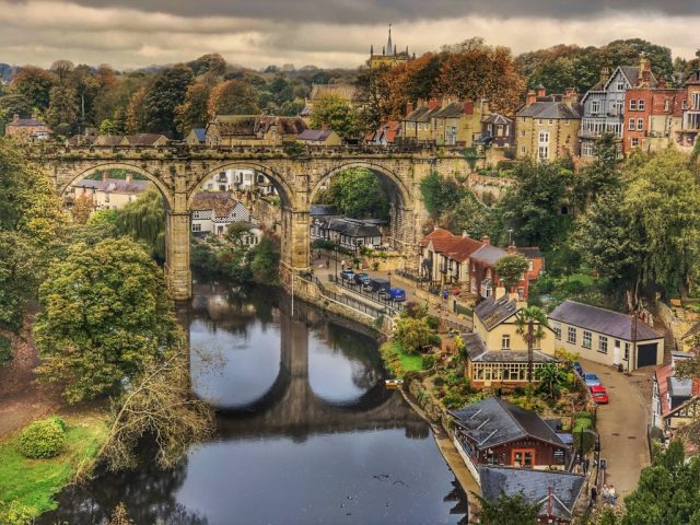 Knaresborough: View from the Castle
