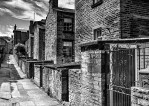 HOUSES: Saltaire, monochrome