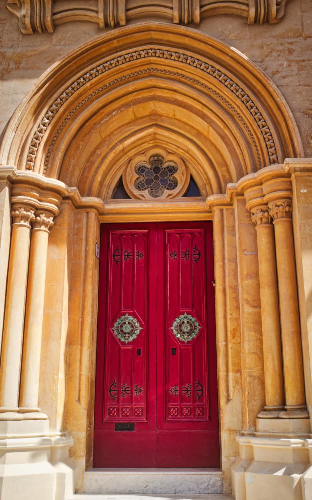 Mdina: Red Door Malta Thursday doors