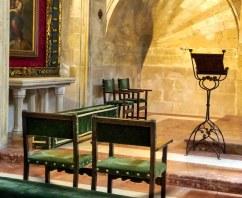 Almudaina Palace 9Palma Mallorca Empty Chairs