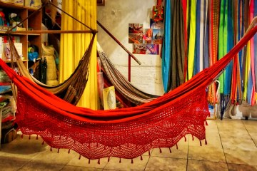 Rainbow Colours colours Hammock shop in Barcelona