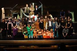 Cambridge University Opera Society The Cunning Little Vixen, February 2012 (Credit: Leo Cairns)
