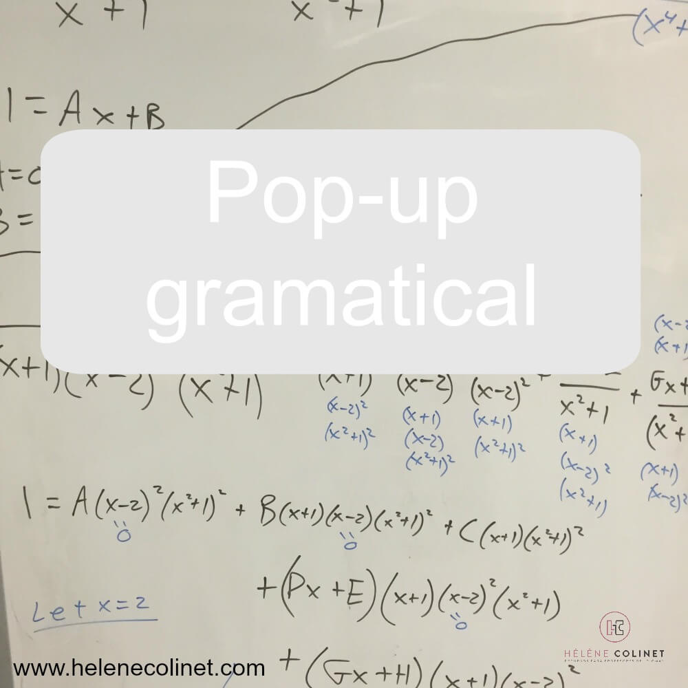 pop-up gramatical helene colinet tprs