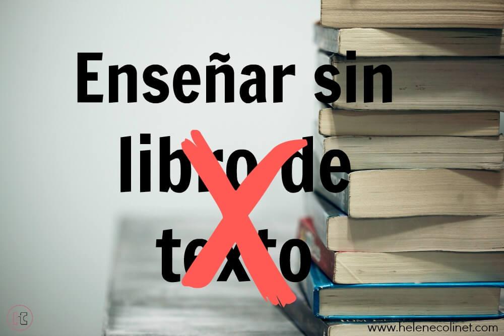 enseñar sin libro de texto recursos profesores idiomas tprs helene colinet españa