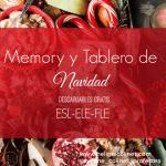 Memory y tablero de Navidad para clases de idiomas (FLE-ELE-ESL)