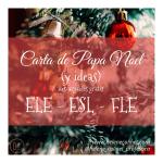 Carta de Papa Noel  a descargar ( ELE – ESL – FLE)