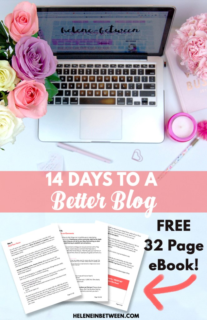 14 Days to A Better Blog - FREE eBook