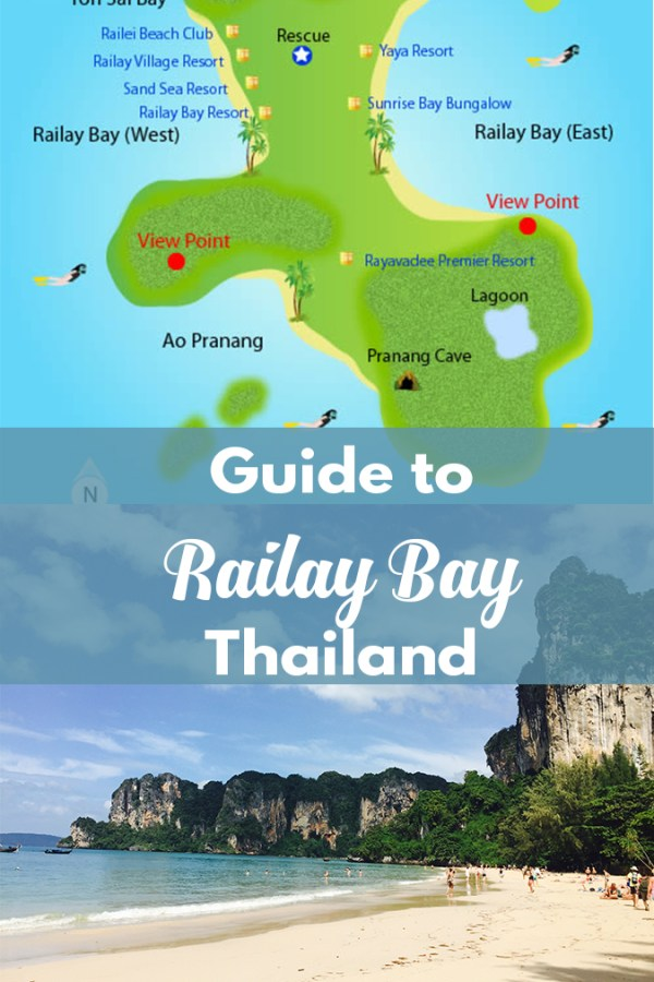 Stepping into Wonderland: Railay Bay Beach, Thailand