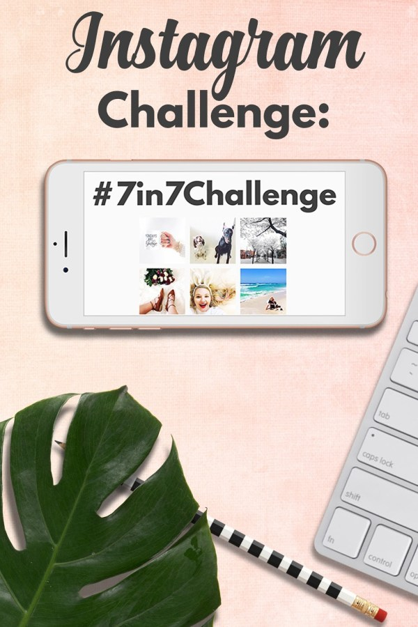 April Instagram Challenge: The #7in7Challenge