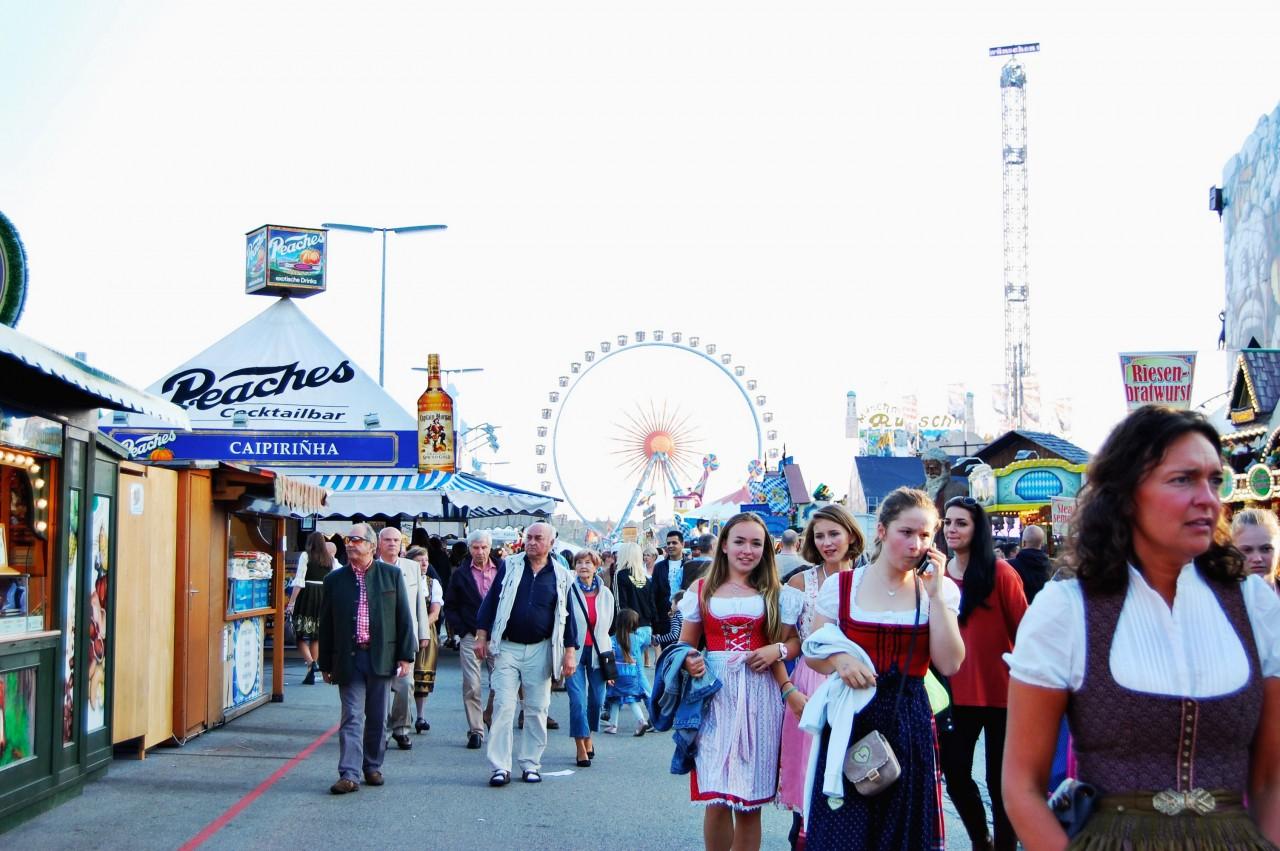 Festival Grounds at Oktoberfest