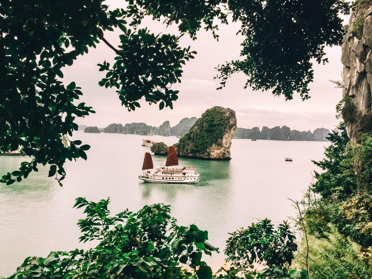 Breathtaking View of Halong Bay, Vietnam