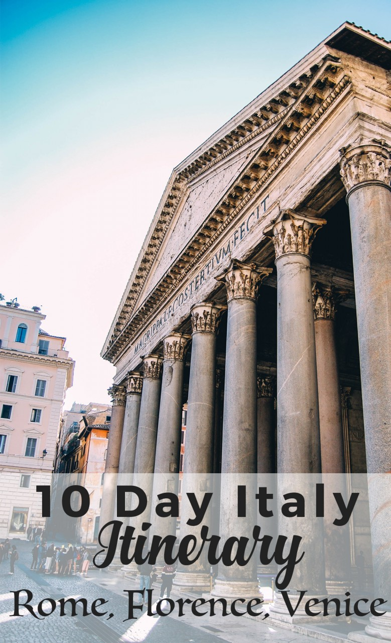 10 day italy itinerary rome florence venice helene in for What to see in venice in 2 days