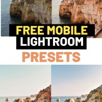 Free Summer Mobile Lightroom Presets