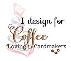 Coffee Loving Cardmakers DT badge