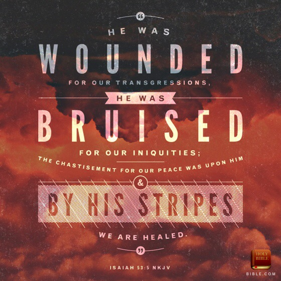 "He was wounded for our transgressions. He was bruised for our iniquities... to download the artwork, please click on the picture or <a href=""http://blog.youversion.com/vod/"" target=""_blank"">here</a>"