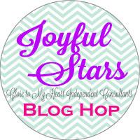 Joyful Stars - June 2014 Blog Hop | http://helengullett.com/?p=4889