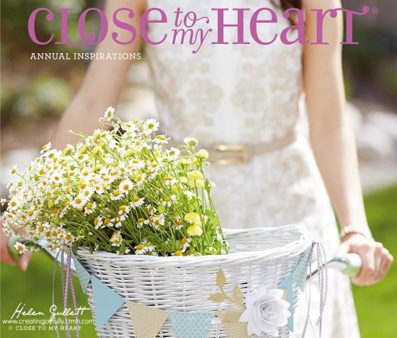 CTMH 2014-2015 Annual Inspirations Book | Helen Gullett | http://creatingjoyfully.ctmh.com/ #closetomyheart #ctmh #annualinspirationsbook #papercrafting #scrapbooking #cardmaking #diy