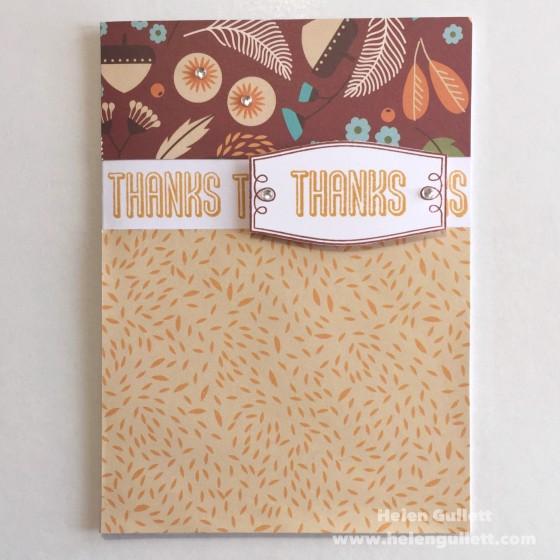 Thanks - Pathfinding Card by Helen Gullett (FMS200)