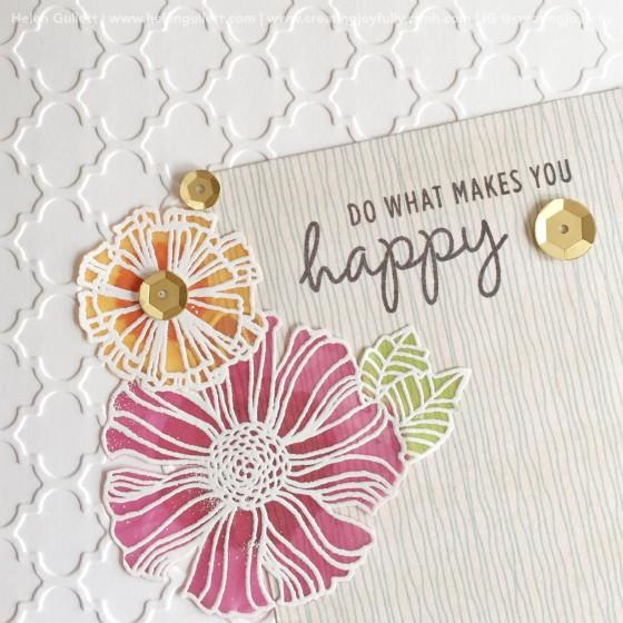 Wavy Bloom Card 1