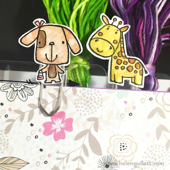 DIY Animal Greetings Planner Clips