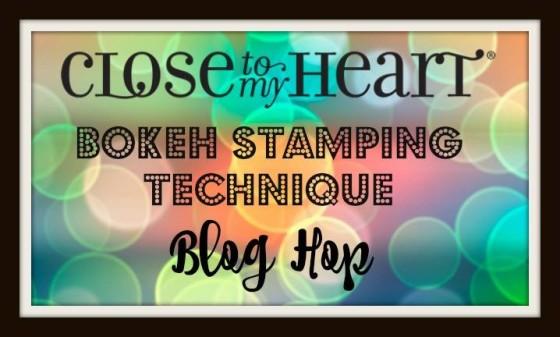 CTMH Bokeh Technique Blog Hop: Bokeh Stamping