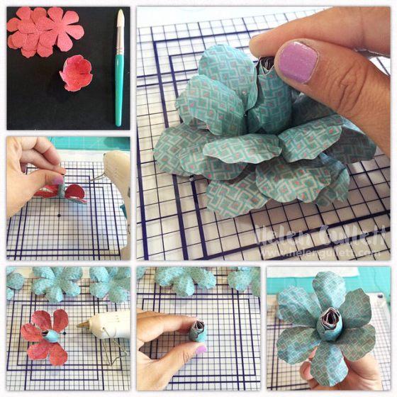 3D-Layered-Paper-Flower-2