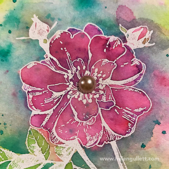 Stretching Your Holiday Crafting Supplies, Hero Arts, Ken Oliver, Color Burst, Mixed Media, Watercoloring